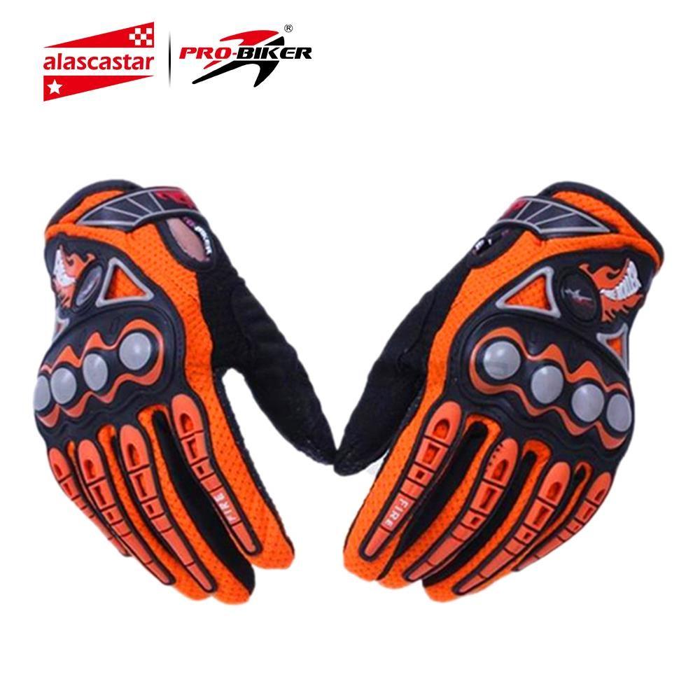 PRO-BIKER hommes gants de course de moto Dirt Bike gants de cyclisme Motocross tout-terrain Enduro doigt complet gants d'équitation taille: M L XL