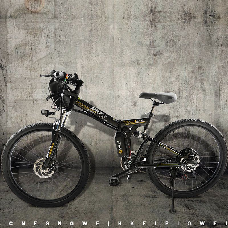Elektrische Fahrrad Leistungsstarke Elektro-bike fronttasche 48 V 12AH 500 Watt berg eBike 24 Geschwindigkeitselektrofahrrad Russland freies verschiffen