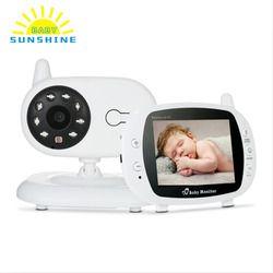 3,5 En LCD Wireless Video Baby Monitor con cámara infrarrojo Digital temperatura seguridad baba eletronica com Cámara