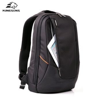 Kingsons конфеты черный рюкзак для ноутбука человек ежедневный рюкзак дорожная сумка школьные сумки 14 дюймов Для женщин рюкзак Mochila Feminina