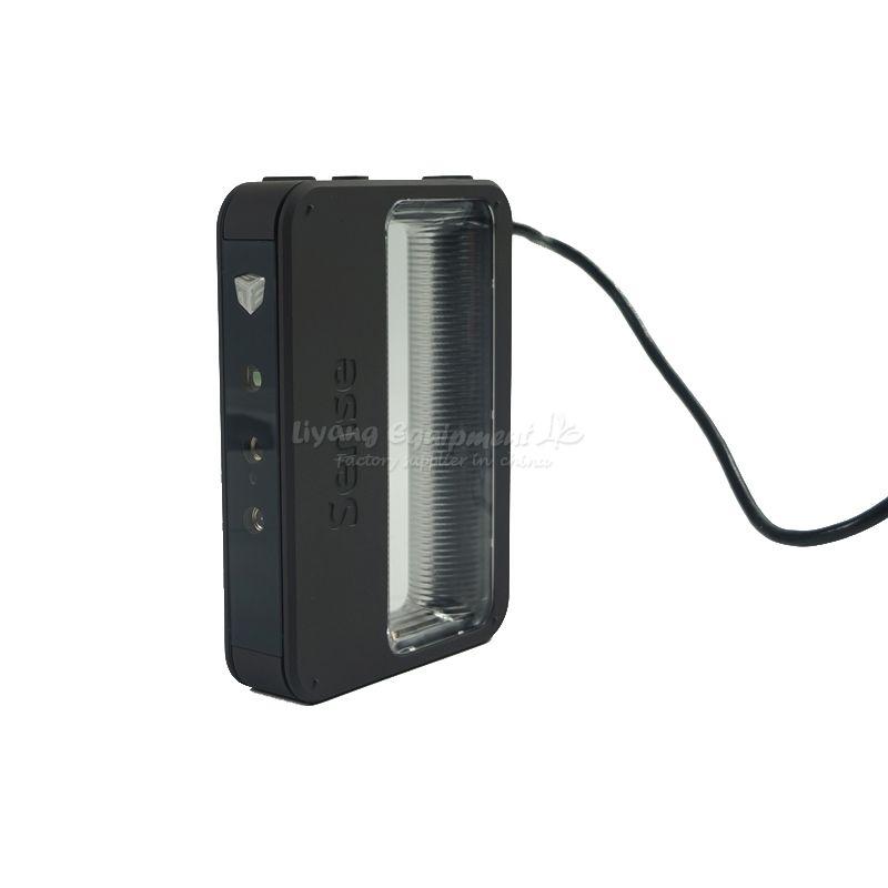 More convenient hand-held portable multi-colour SENSE 3D scanner