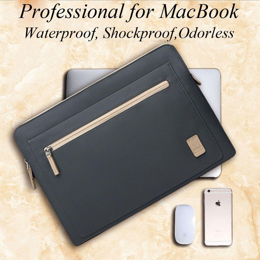 WIWU Laptop Bag Case for <font><b>Macbook</b></font> Pro Air 13 Case Waterproof Nylon Notebook Bag 14 for Dell XPS 13 Cover for <font><b>Macbook</b></font> Pro 13 2016