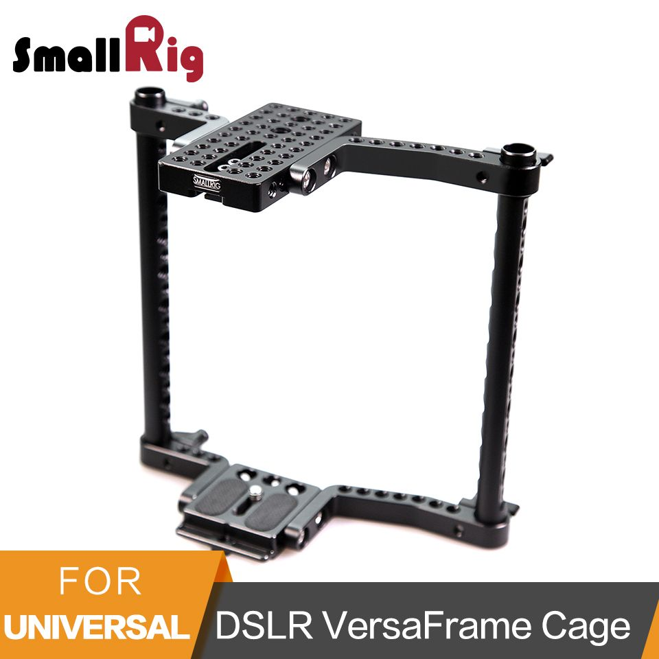 SmallRig Universal Camera VersaFrame Cage For Canon/Nikon/Sony/Panasonic GH3/GH4/Fujifilm DSLR Cameras With Battery Grip-1750