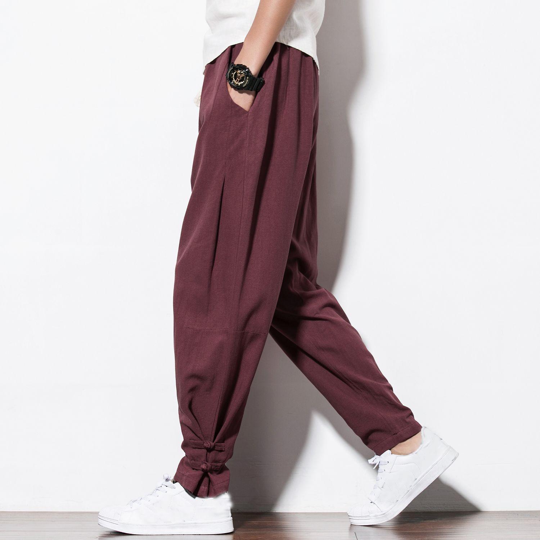 2017 Autumn New Harem Pants Men Casual Sweatpants Elastic Waist  Plus Size Brand Clothing  Mens Joggers Pants Hip Hop Trousers