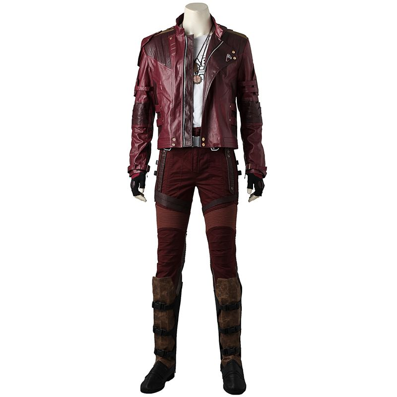 Star Lord Guardians of The Galaxy 2 Cosplay Costume Outfit Peter Quill Cosplay Halloween Superhero Party Men Adult Custom Made