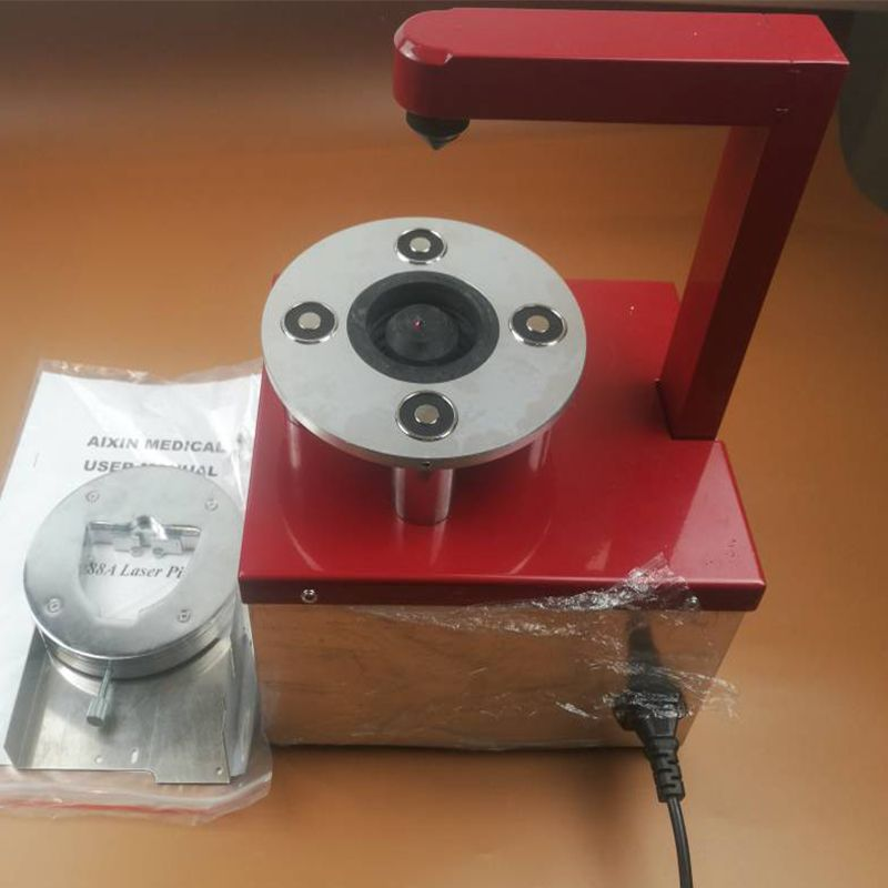 AX-88A new Silent Plastic board Dental Laser pin hole drilling machine for Dental Technician CE Approved for dental laboratory