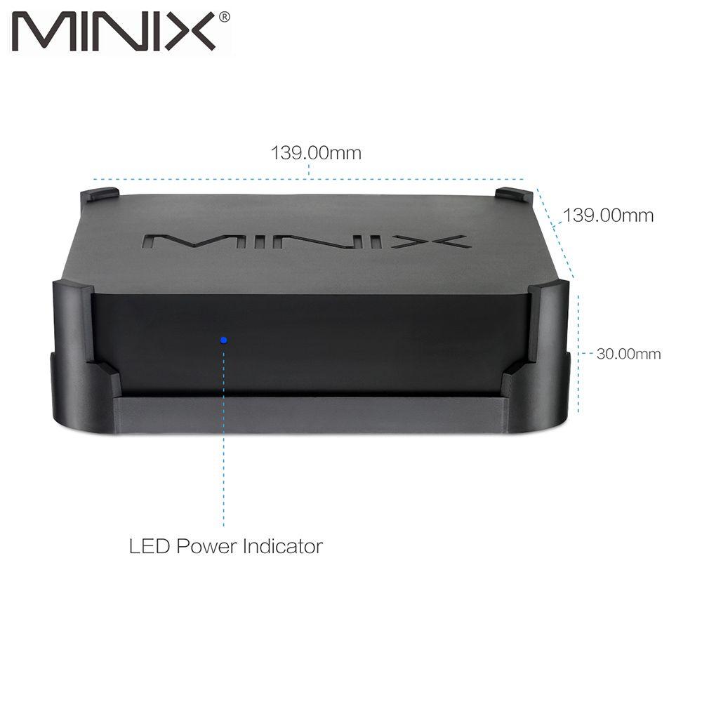 Original New MINIX NEO N42C-4 TV BOX Official Windows 10 Pro 64-bit MINI PC 4G/32G Gigabit WIFI USB3.0 Pentium N4200 TV BOX