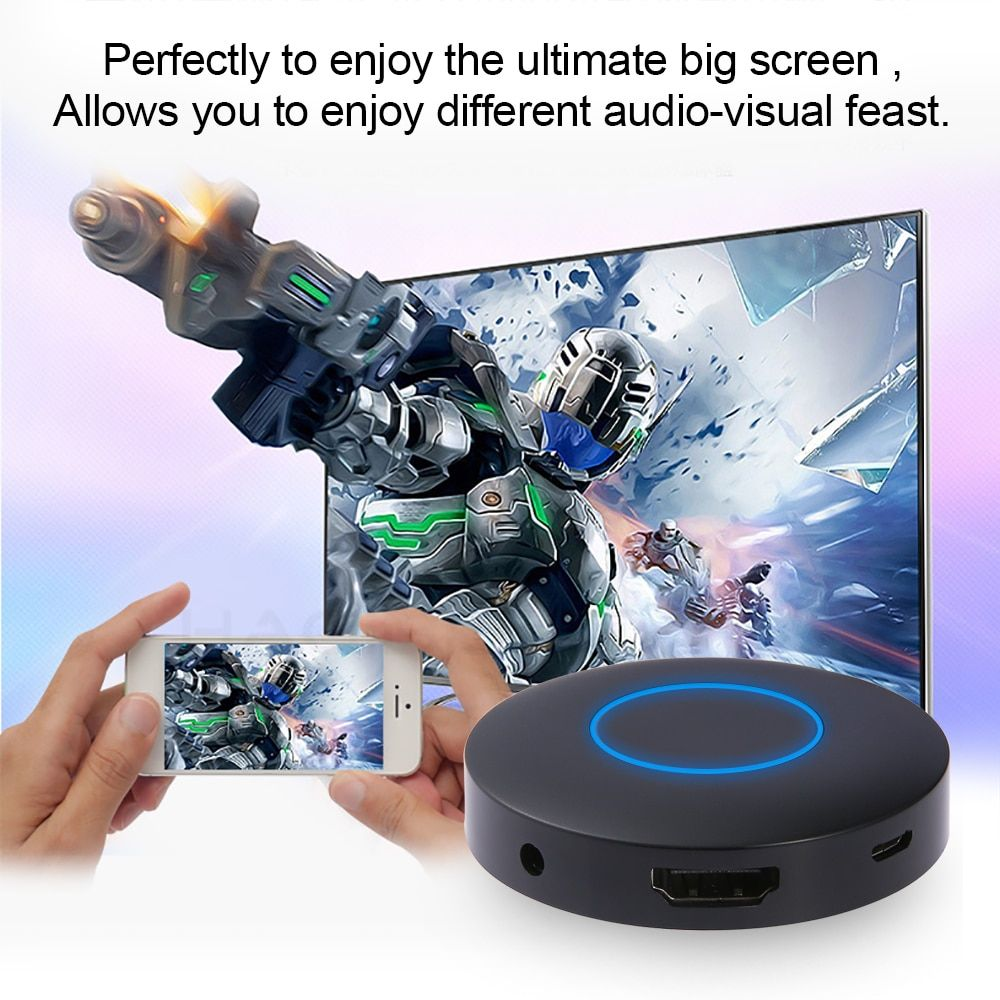 2017 Brand New HD+AV Output Q1 Mirroring Dongle Wifi Display Receiver HDMI Android TV Stick Interface Free Shipping