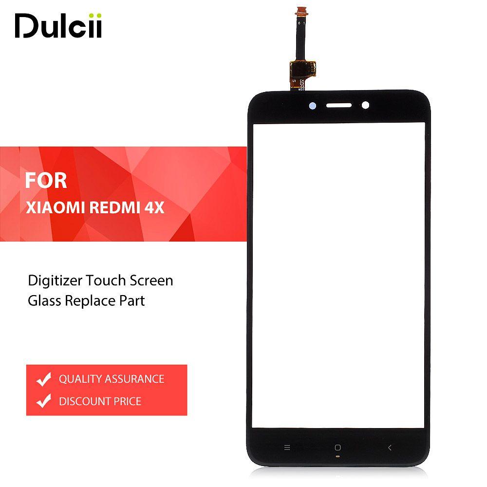 Dulcii pour Xiaomi Redmi 4X Digitizer Écran Tactile En Verre Remplacer partie pour Xiomi Redmi 4X Digitizer Écran Tactile En Verre Noir blanc