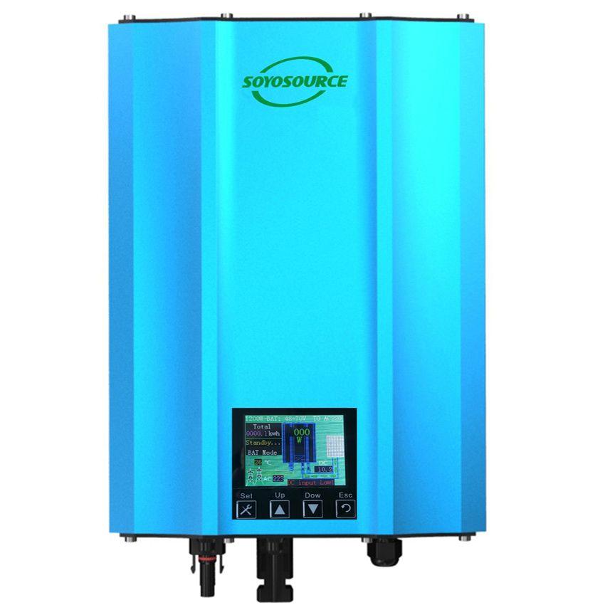 Neue funktion wasserdichte 1200 watt grid tie inverter DC zu AC 110 v 220 v isolation Sicherheit Hohe effizienz reine sinus welle home System