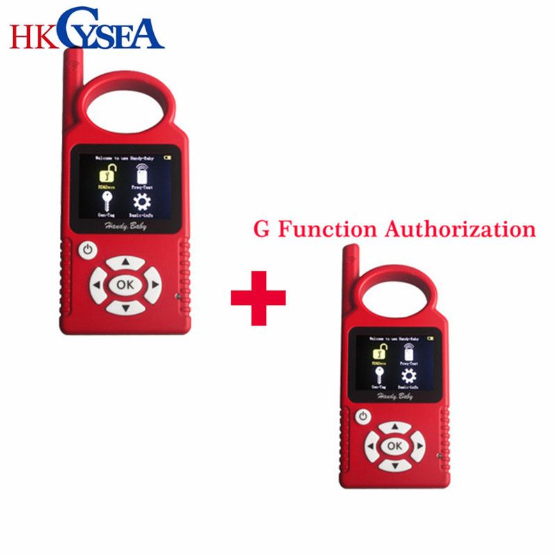 Newest Handy Baby V9.0.0 Hand-held Car Key Copy Auto Key Programmer for 4D/46/48 Chips Plus G Chip Copy Function Authorization