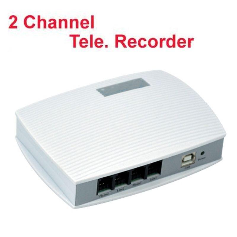 2 kanäle voice activated USB telefon recorder telefon monitor 4 ports USB telefon monitor USB telefon logger arbeit auf W10