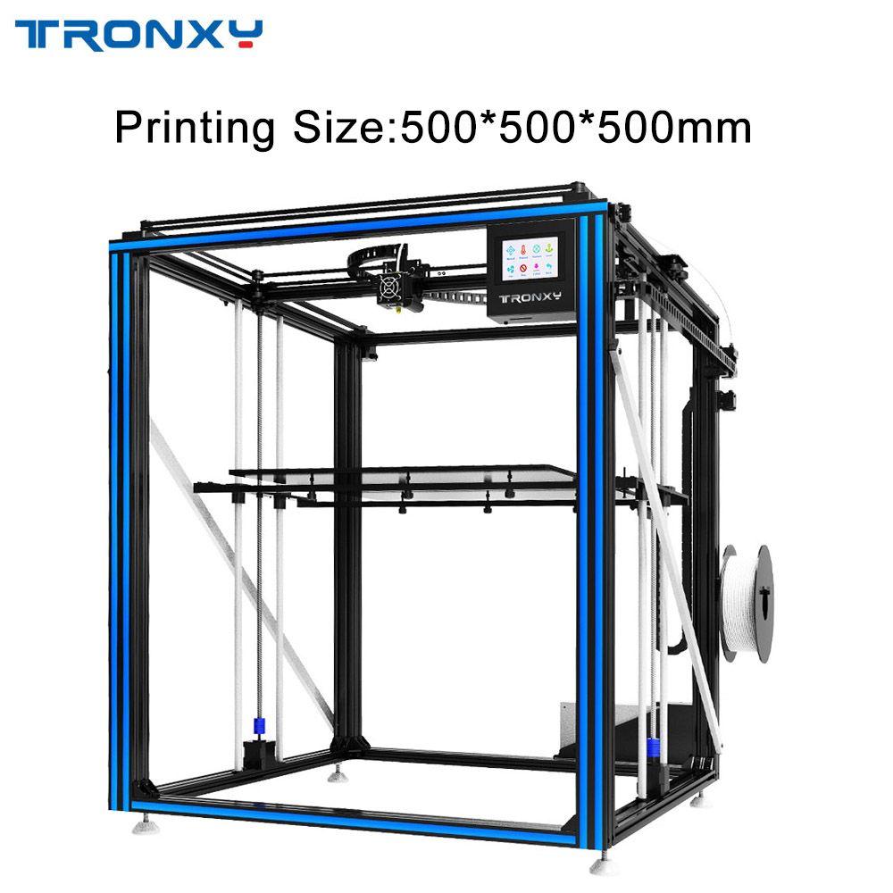 2019 TRONXY 3D Drucker große Druck Größe 500*500mm X5SA-500 X5ST-500 Hohe Genauigkeit Schnelle Geschwindigkeit DIY Maschine Kits touchscreen