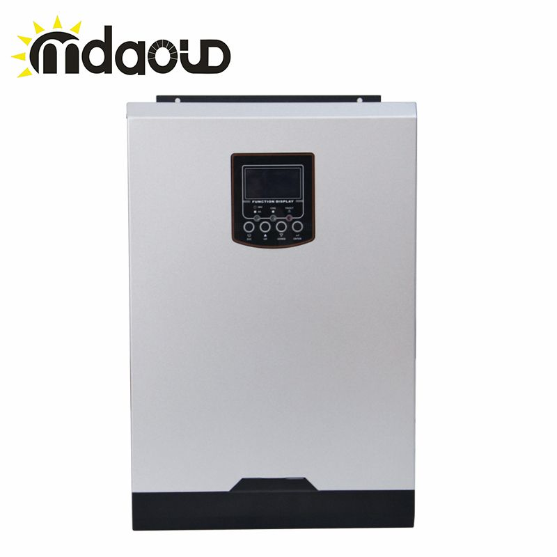 Hybrid off grid  5000W 80A DC48v TO AC230v charger solar inverter Built-in mppt