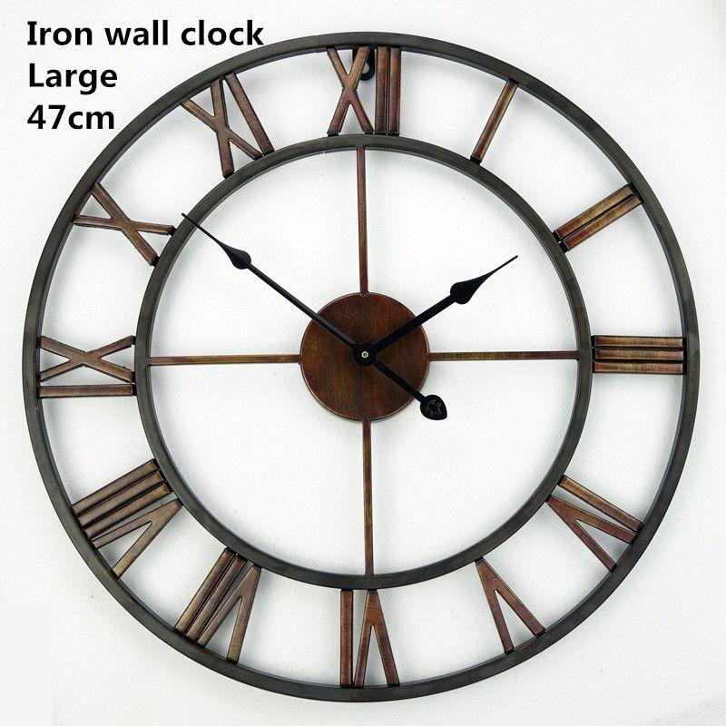 Saat Grand Mur Horloge Montre Horloge Murale Horloge Murale Duvar Saati Numérique Horloges Reloj de Pared Reloj Klok Orologio da parete