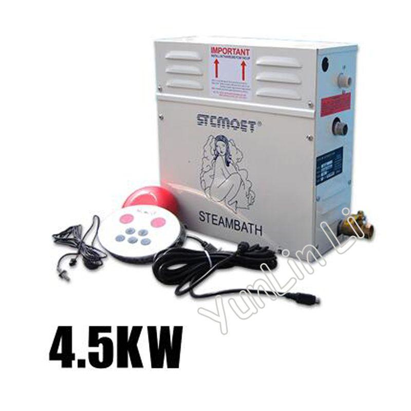 4.5KW Digital Controller Sauna Dampfer 220 V Haushalts Dampf Maschine Tragbare Dampf Generator Zimmer Dampfenden Maschine ST-45