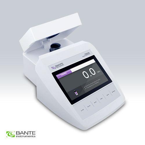 Genuine Marke BANTE Standard Benchtop Turbidimeter trübung TSS meter tester analyzer USB DATEN