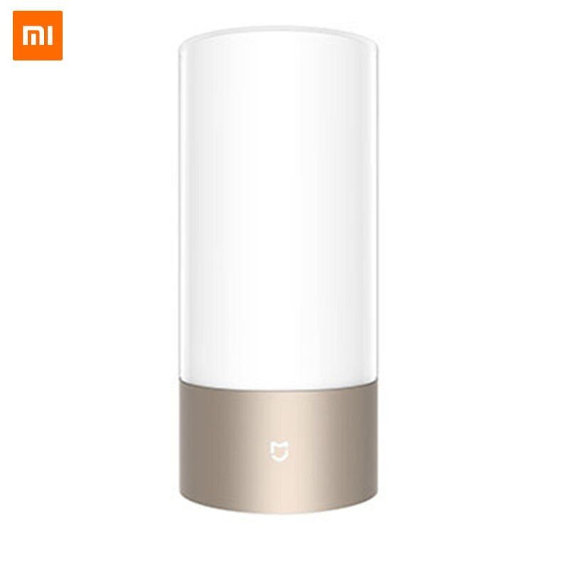 Global Version Xiaomi Mijia Yeelight LED Light Smart Indoor Night Bedside Lamp Remote Touch Control Wi-Fi Smart App Control