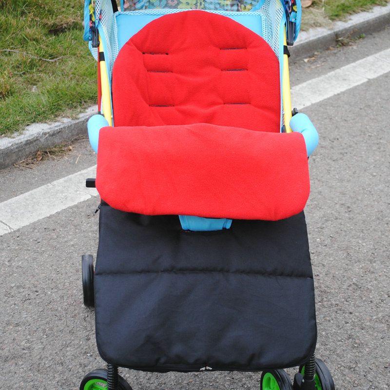 Baby Sleeping Bag stroller warm winter Newborn Envelope Kids Thick foot cover for pram wheelchair   Infant stroller foot muff