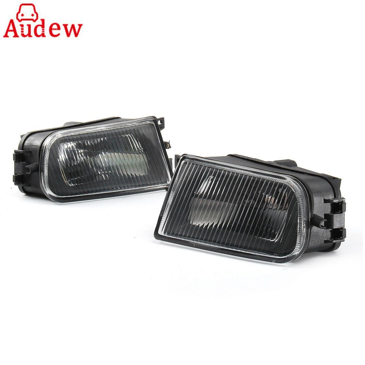 1 Paar Schwarze Auto Nebelscheinwerfer Stoßstange Lampe Gehäuse Links und Rechts für BMW E39 5er 97-00/Z3 97-01