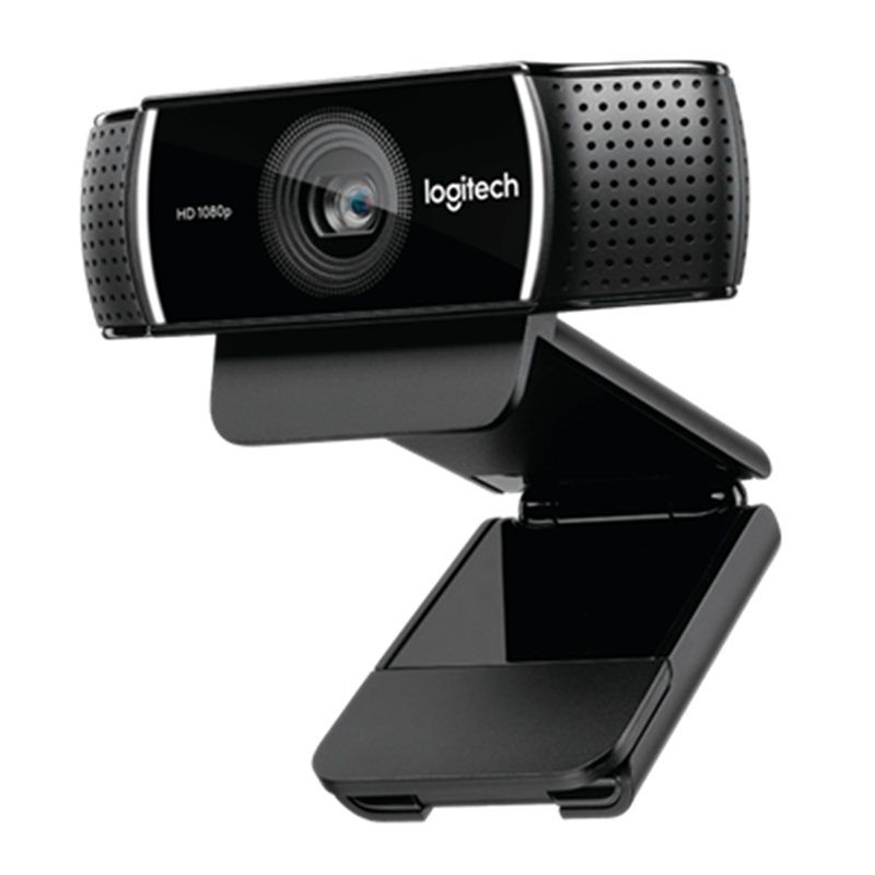 Logitech C922 PRO autofocus built-in microphone full HD anchor webcam