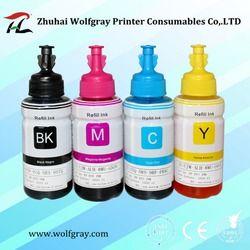 Совместимый краситель на основе пополнения набор чернил для принтера Epson L100 L110 L120 L132 L200 L210 L222 L300 L312 L355 L350 L362 L366 L550