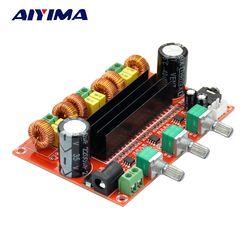 AIYIMA TPA3116 2,1 цифровой аудио усилитель Совет TPA3116D2 сабвуфер Динамик усилители DC12V-24V 2*50 Вт + 100 Вт
