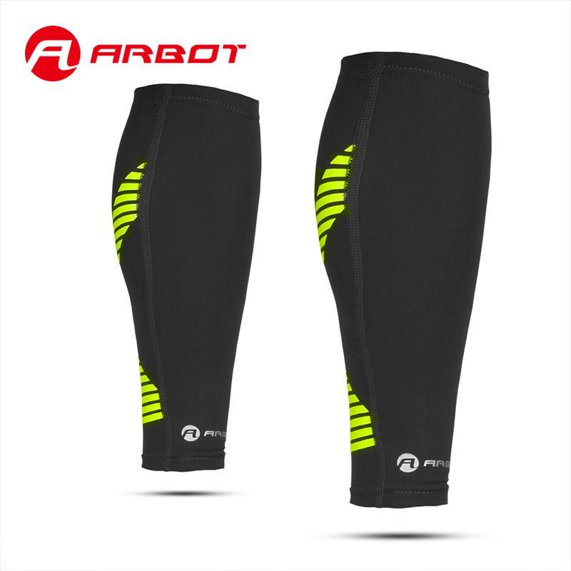 Arbot Kompression Kalb Hülse für Basketball Volleyball Männer Unterstützung Waden Elastische Sport Wrap Schutz Shin Bein Sleeve Schutz