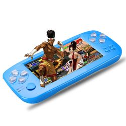 PAP KIII 4.3 inch game console  Handheld Game Console 32 bit Portable Video Game Built in 653 Games Support CP1/CP2/NEOGEO/GBA