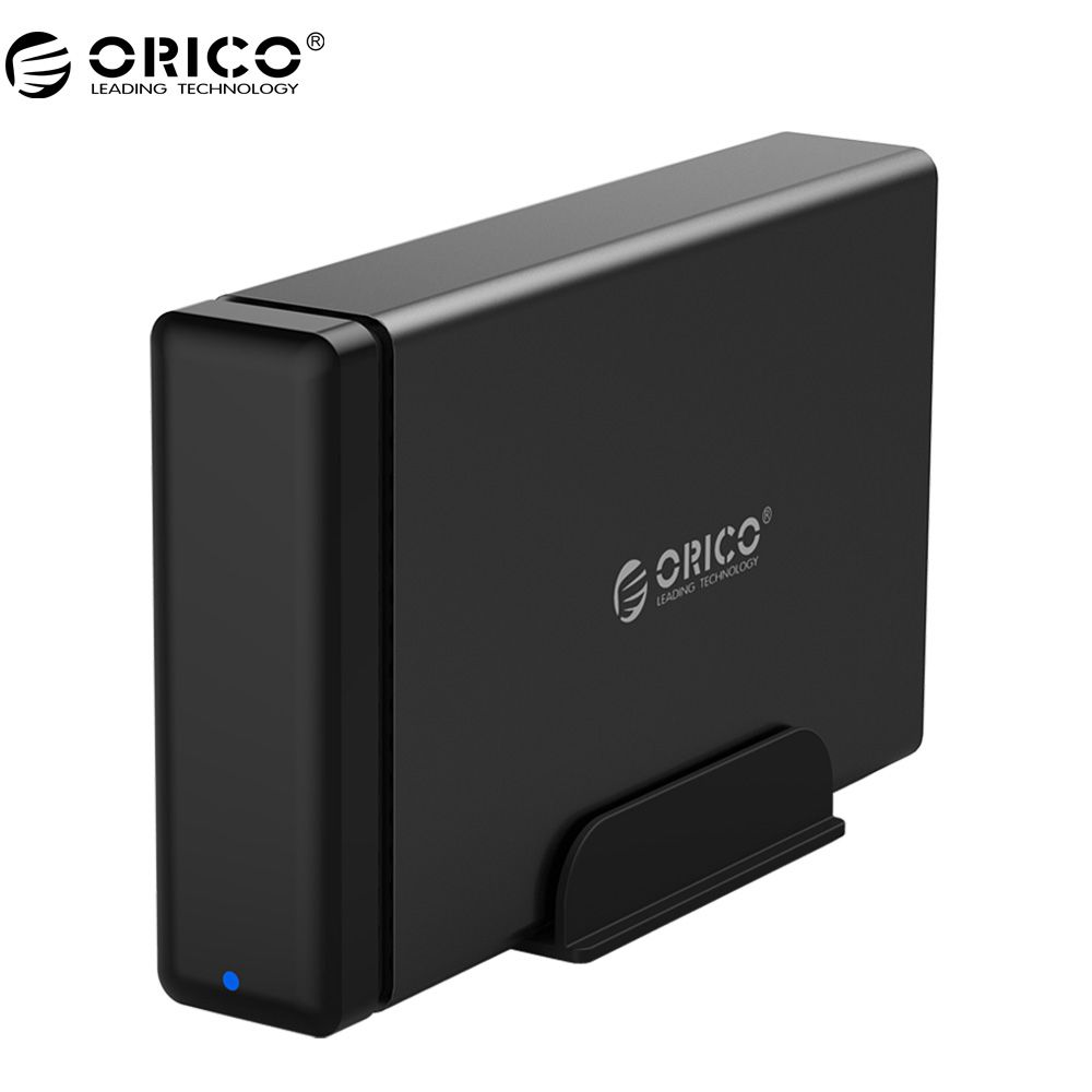 ORICO NS100U3 Aluminum HDD Dock Enclosure USB3.0 to SATA3.0 Hard Drive Box Support UASP 12V Power MAX 10TB Capacity