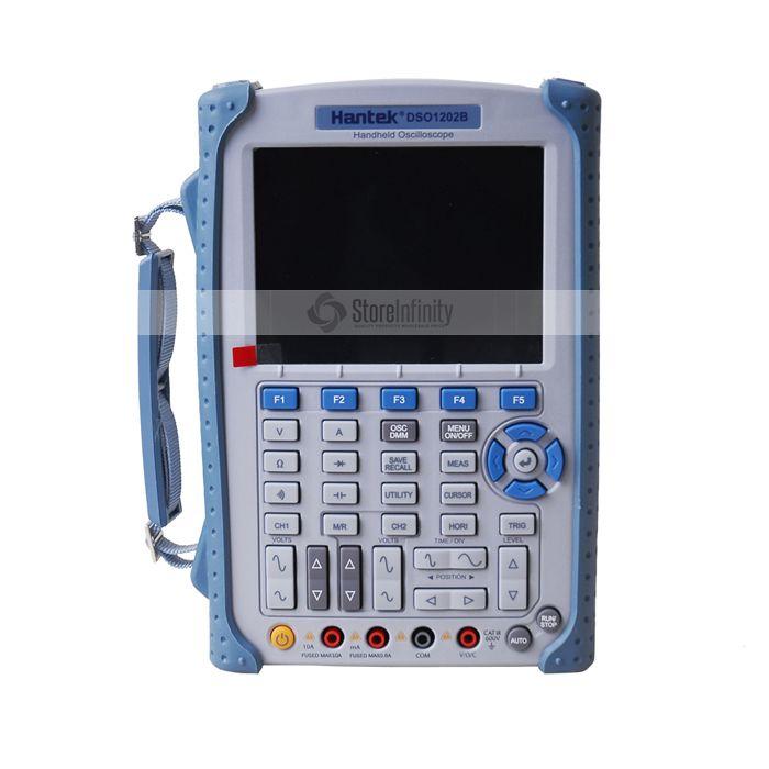 Hantek DSO1202B Digital Handheld Oscilloscope 5.6 Inch TFT Color LCD Display Multimeter High Band Width 200 MHz 2 Channels
