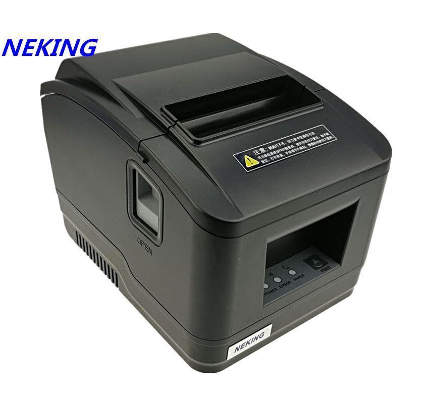 Großhandel brandneue qualität pos drucker 80mm empfang Kleine ticket barcode-drucker automatische schneidemaschine drucker