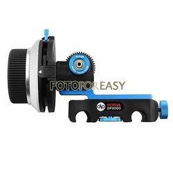 FOTGA DP3000 DSLR Quick Release Clamp A/B Stops Follow Focus fit for 15mm Rod Rig