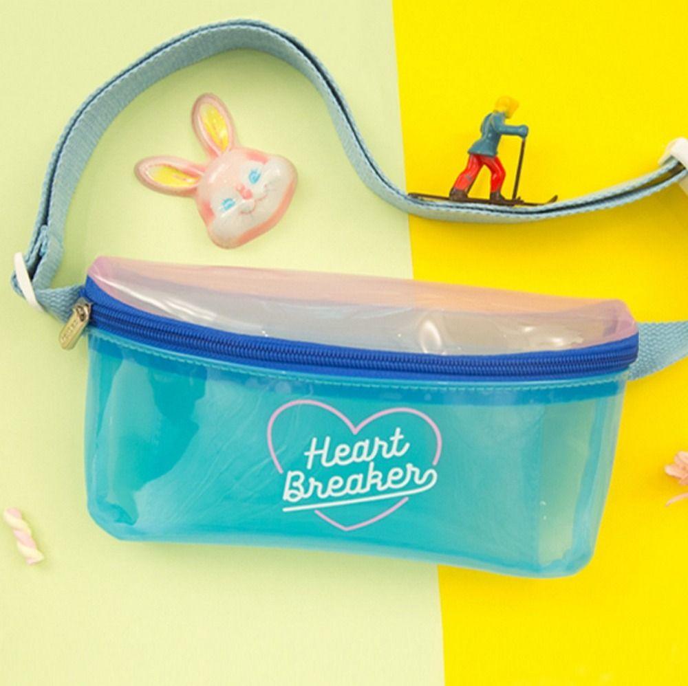 Bentoy gelée imperméable à l'eau femmes PVC taille Pack sac à bandoulière pour femmes filles décontracté mignon sangle poitrine sac sac à bandoulière