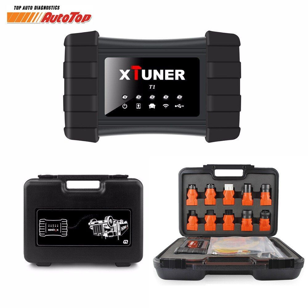 2018 NEW Heavy Duty Truck Diagnostic Tool XTUNER T1 HD OBD for VOLVO IVECO SCANIA Scanner Truck Bus Diesel OBD2 DPF Regeneration