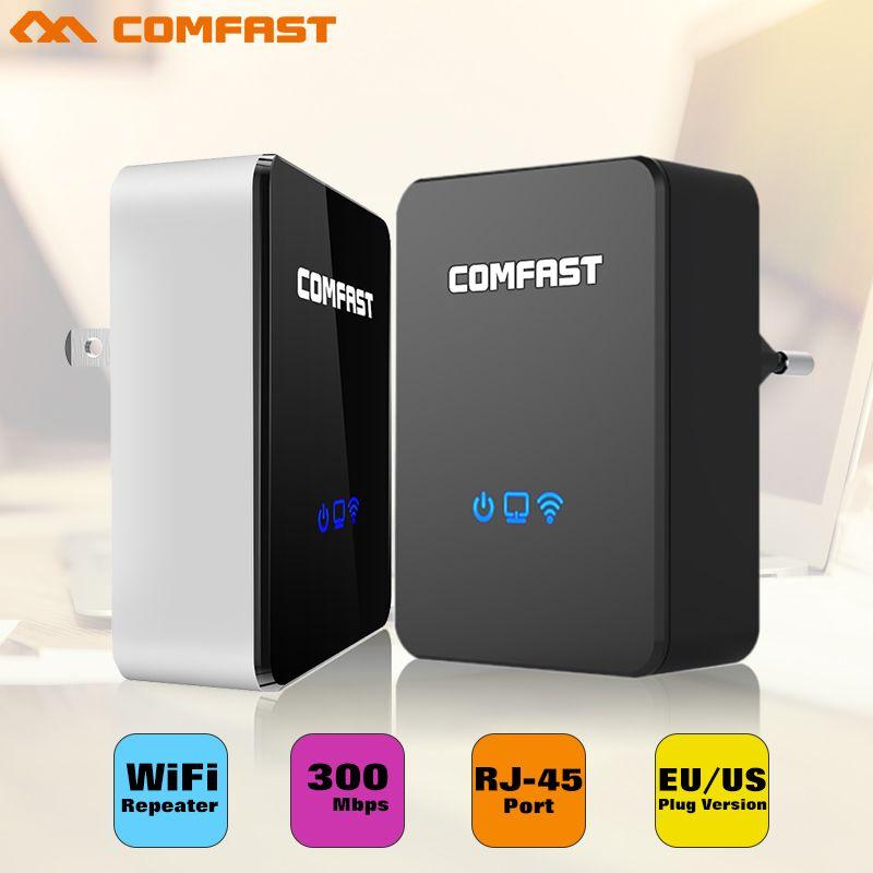Roteador COMFAST AP + répéteur + routeur trois-en-un CF-WR300N 300 Mbps 802.11N portable WIFI répéteur/wifi routeur wifi adaptateur rj45