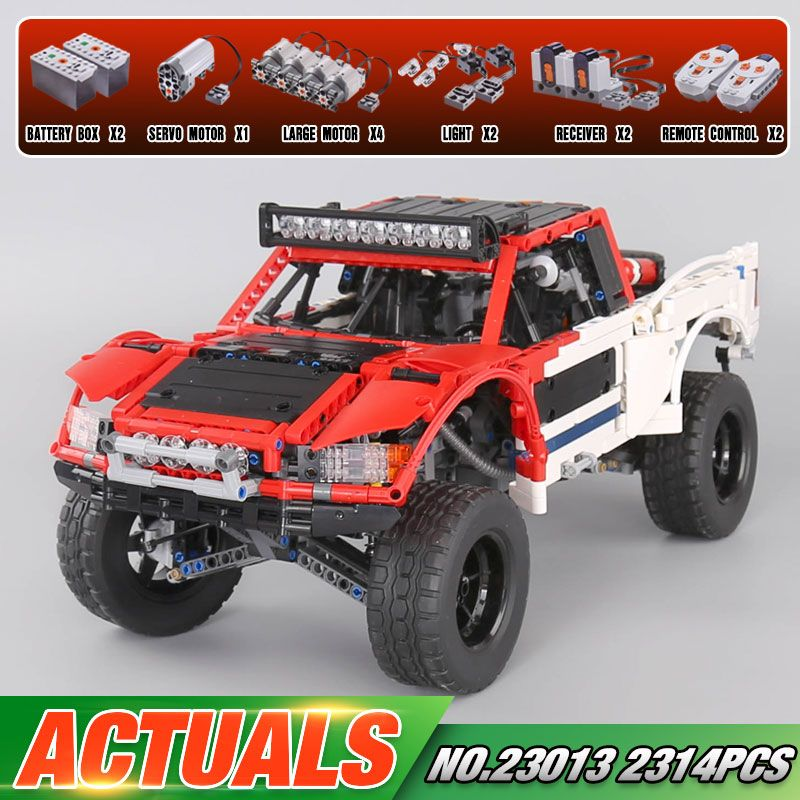 Lepin 23013 Genuine 2314Pcs Technic Series The Remote-Control Off-road Car Set Building Blocks Bricks Funny Toys As Kids Gifts