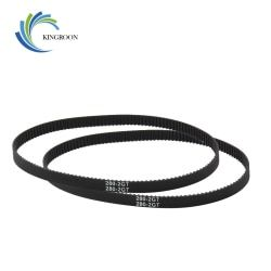 GT2 Closed Loop Timing Belt Rubber 2GT 6mm 3D Printers Parts 110 112 122 158 200 280 300 400 610 852 mm Synchronous Belts Part