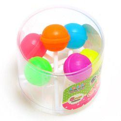12 unids/lote creativo caramelo dulce lolipop Gomas de borrar escuela suministros de oficina regalos para niños envío gratis