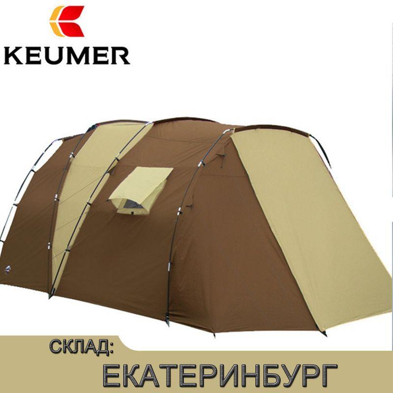 Wasserdichte Offene Zelte Im Freien Luxus 210 t Polyester Familie Camping Zelt Für 5-8 Personen Doppel Schicht Kostenloser versand