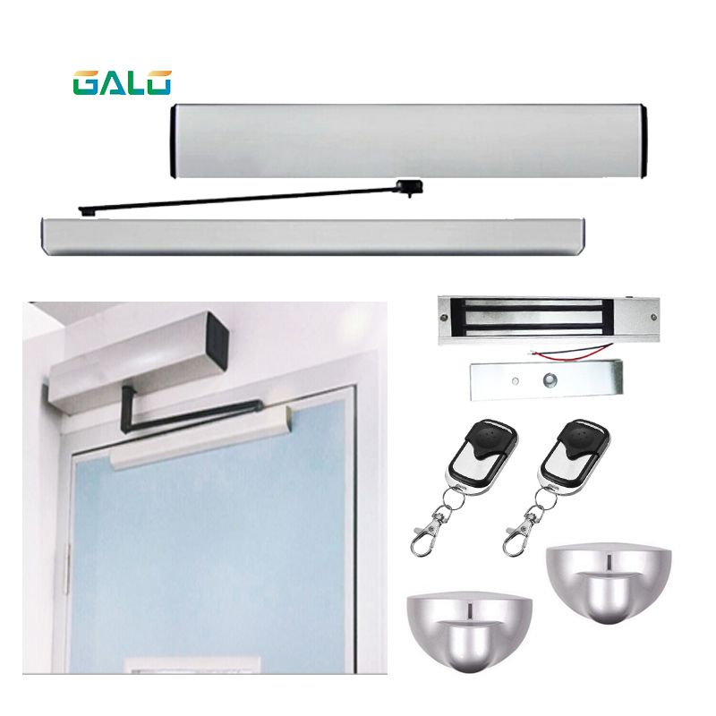 Automatic system for home Office Supermarket swing door,common Automatic swing door opener full color-kit Optional