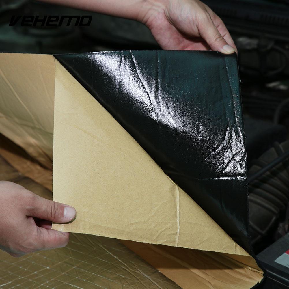 Vehemo Car Heat Sound Insulation Cotton Noise Killer Vehicle Protection Tools