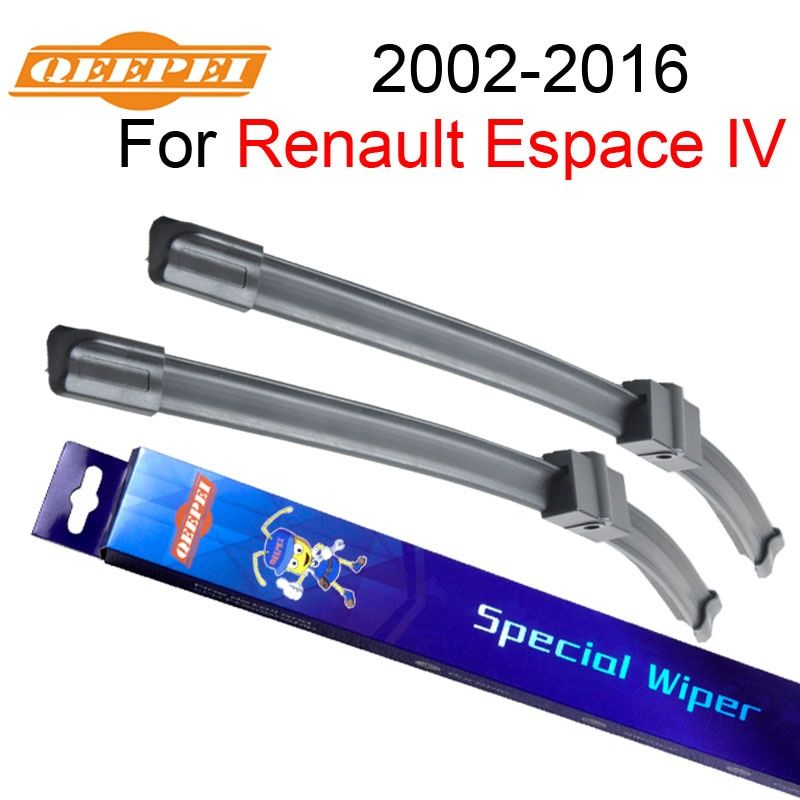 QEEPEI Windscreen Wipers For Renault Espace 4 2002-2016 30+28''R Car Rubber Wiper <font><b>Blade</b></font> Accessories For Auto,CPA202