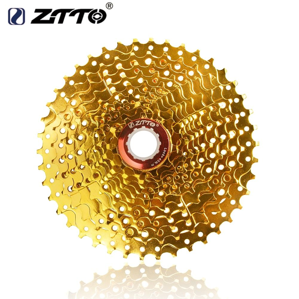 ZTTO Gold Golden MTB Cassette 11 Speed for Parts XT M8000 SLX M7000 XTR M9000 k7 NX GX