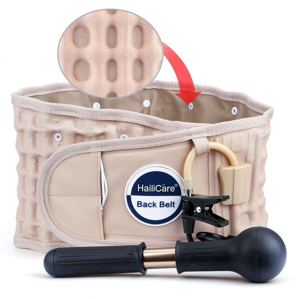 HailiCare Back Relief Belt Waist Brace Support Belt Lumbar traction backach Waist Brace Pain Release Health Massager Health Care