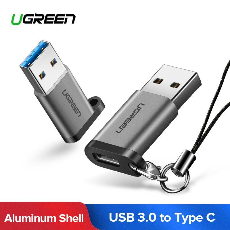 Ugreen USB C Adapter USB A 3,0 Männlichen zu USB 3.1 Typ C Buchse Typ-c Adapter für PC laptop Samsung Huawei P10 P20 USB C