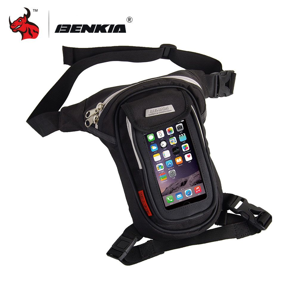 BENKIA Thigh Bag Motorcycle Leg Bag Knight Waist Pocket Outdoor Package Bag Moto Motocicleta Side Bag