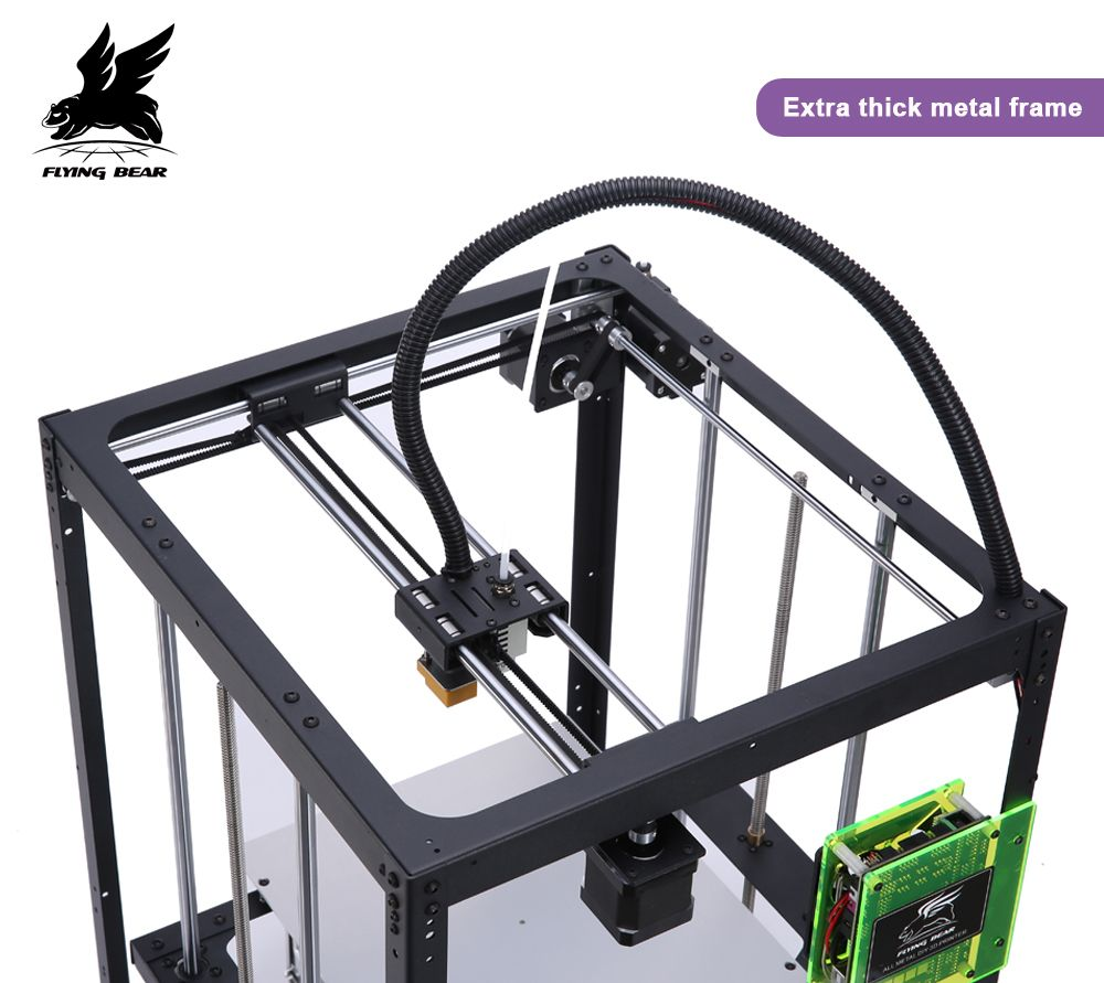 Shipping from Germany Hot sale Flyingbear Full metal Auto leveling DIY 3d Printer P905X kit Large printing size