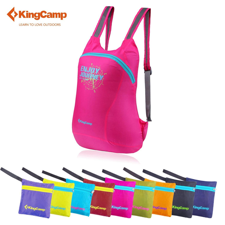 KingCamp Femmes Sport sac 12L Escalade sac pliable Étanche voyage sac à dos de Randonnée Ultralight Sport sac à dos Pour Le camping