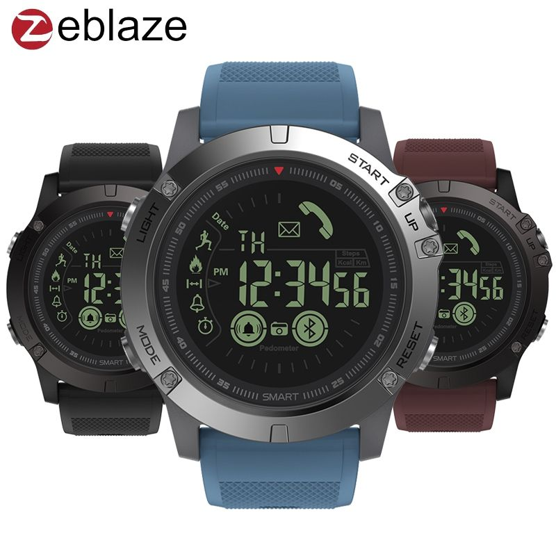 Zeblaze VIBE 3 GMT Two Places All-day Activity Record Sport 33 Month <font><b>Long</b></font> Standby Information Reminder Smartwatch Smart Watch